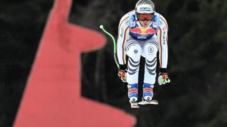 Thomas Dreßen hat durchaus gute Chancen bei den Hahnenkammrennen. Foto: Hans Klaus Techt
