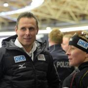 Ist nur noch bis Ende März Sportdirektor der Deutsche Eisschnelllauf-Gemeinschaft DESG: Robert Bartko (l). Foto: Rainer Jensen