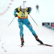 Bewies im russischen Tyumen über 10 Kilometer Sprint erneut seine Klasse: Martin Fourcade aus Frankreich. Foto: Mikhail Tereshchenko