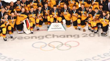 Die deutscheEishockey-Nationalmannschaft ist einer der großen Gewinner des Olympia-Winters.