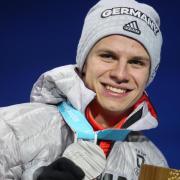 Führt zusammen mit Richard Freitag das DSV-Aufgebot der deutschen Skispringer an:Andreas Wellinger. Foto: Michael Kappeler