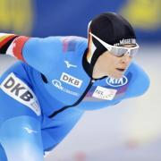 Eisschnellläuferin Claudia Pechstein ist auf Trainersuche. Foto: Sergei Grits/AP