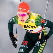 Langläuferin Hanna Kolb hat ihre Karriere im Wintersport beendet. Foto: Jon Olav Nesvold/Bildbyran via ZUMA Wire