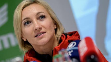 Hat Olympia 2022 in Peking im Blick: Paarlauf-Olympiasiegerin Aljona Savchenko.