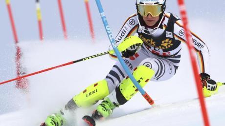Lena Dürr hofft einen gute Platzierung beim Slalom-Weltcup in Levi.