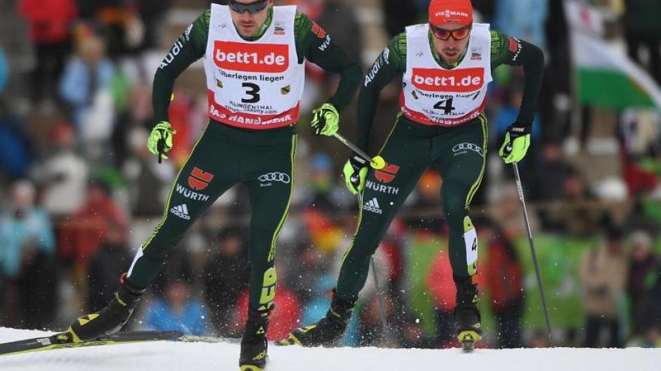 Ski Nordisch Aus Für Kombinierer Rießle Und Rydzek Bei Langlauf
