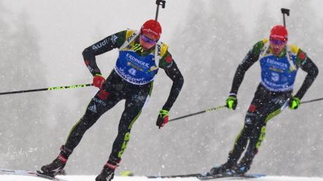 Die deutsche Biathlon-Staffel der Männer wird beim Heim-Weltcup in Oberhof in Bestbesetzung an den Start gehen.