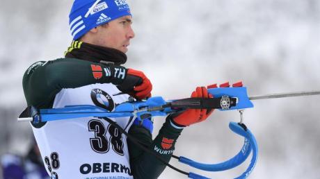 Ist in dieser Saison noch nicht in Form: Simon Schempp.