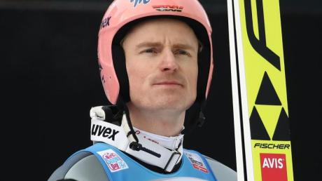 Flog in Sapporo an den Top 10 vorbei: Severin Freund, Skispringer. Foto: Daniel Karmann