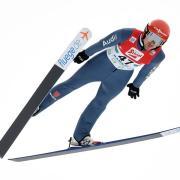 Kombinierer Fabian Rießle belegte in Chaux-Neuve den zweiten Platz. Foto: Helmut Fohringer/APA