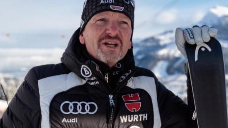 Alpin-Trainer Mathias Berthold sparte nicht mit Kritik. Foto: Expa/Johann Groder/APA
