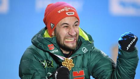 Markus Eisenbichler will nach zwei Titeln am Bergisel in Innsbruck nun auch in Seefeld nachlegen.