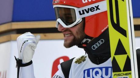 Markus Eisenbichler hat bei der Weltmeisterschaft in Seefeld drei Goldmedaillen errungen. Foto: Hendrik Schmidt
