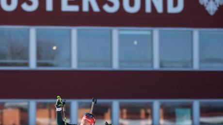 Laura Dahlmeier ist heiß auf weitere Medaillen bei der Biathlon-WM in Östersund.