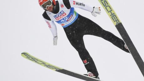 Markus Eisenbichler wurde als bester Deutscher Achter.