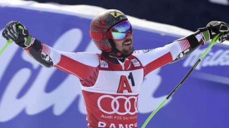 Der österreichische Skirennfahrer Marcel Hirscher ist eine Klasse für sich.