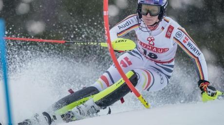 Wurde deutsche Meisterin im Slalom: Lena Dürr.
