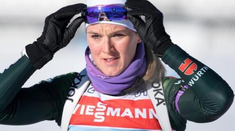 Denise Herrmann wurde zum Weltcup-Finale Zweite. Foto: Sven Hoppe