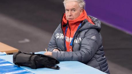 Udo Dönsdorf sieht die Deutsche Eislauf-Union in einer Krise.