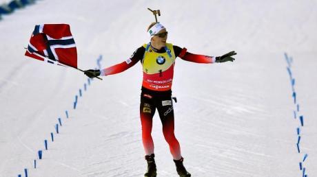 Dominierte den Biathlon-Weltcup: Der Norweger Johannes Thingnes Bö.