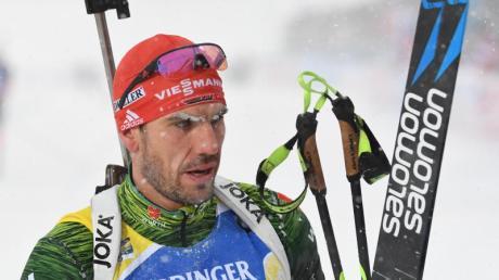Schaut der Zukunft entspannt entgegen: Biathlon-Ass Arnd Peiffer. Foto: Sven Hoppe/dpa