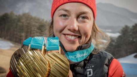 Hat schon Pläne für die Zeit nach der aktiven Karriere: Laura Dahlmeier.