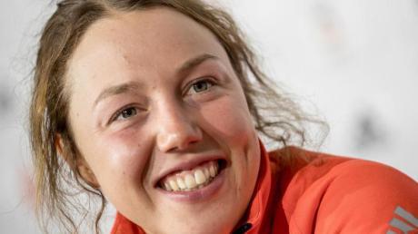 Die ehemalige Biathletin Laura Dahlmeier absolviert eine Trainerausbildung.