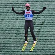 Der Skispringer Karl Geiger gewinnt die nationale Meisterschaft. Foto: Hendrik Schmidt/dpa-Zentralbild/dpa