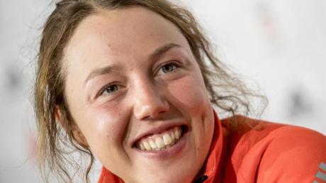 Macht sich Gedanken über ihre sportliche Zukunft: Laura Dahlmeier. Foto: Michael Kappeler/dpa