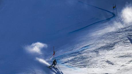 Alice Robinson verblüffte mit ihrem Weltcup-Erfolg in Sölden die Ski-Welt. Foto: Gian Ehrenzeller/KEYSTONE/dpa