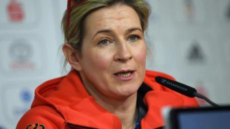 Wünscht ihren Lebensgefährten Matthias Große auf den Posten des DESG-Sportdirektors: Claudia Pechstein.