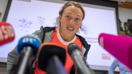 Laura Dahlmeier wird bei ausgewählten Biathlon-Übertragungen ihren Blick auf das Geschehen werfen.