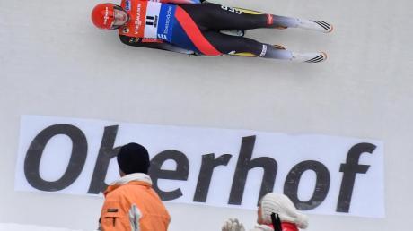 Die olympischen Rodel-Wettbewerbe 2030 könnten in Oberhof stattfinden.