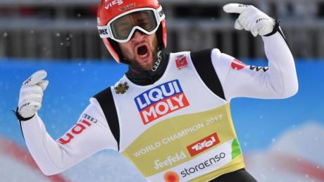 Ist bereit für den Saisonstart: Skispringer Markus Eisenbichler.