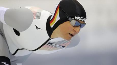Lief in Claudia Pechstein einen neuen Bahnrekord: Claudia Pechstein.