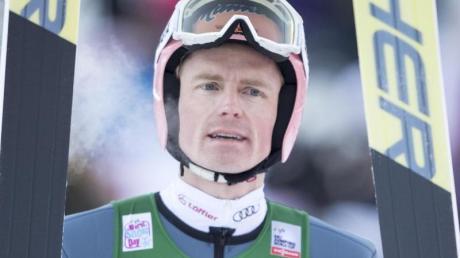 Muss eine Trainingspause einlegen wegen Rücken: Skispringer Severin Freund.