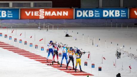 Nach schwachen Schießergebnissen konnten die deutschen Biathleten nicht in den Kampf um die Podestplatzierungen eingreifen.