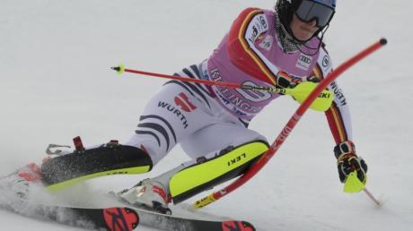 Christina Ackermann hat das Podest beim Slalom in Killington knapp verpasst.