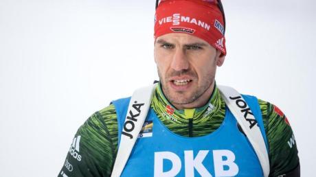 Hatte Glück im Unglück: Biathlon-Ass Arnd Peiffer.