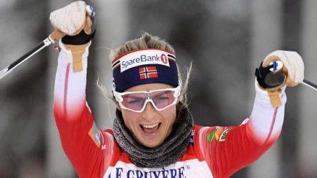 Hat beim Skiathlon in Lillehammer gesiegt: Therese Johaug aus Norwegen.