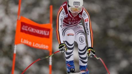 Die deutsche Skirennfahrerin Kira Weidle hat beim Weltcup in Lake Louise den sechsten Platz erreicht.