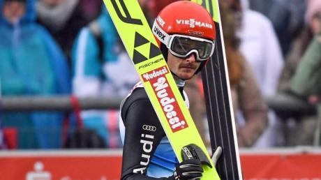 Freut sich auf den Weltcup in Klingenthal: Richard Freitag.