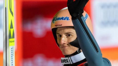 Mit Rang fünf bester deutscher Skispringer in Klingenthal: Karl Geiger.