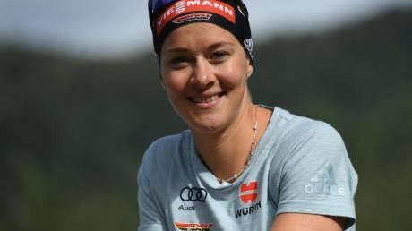 Rückt in Frankreich in den Biathlon-Kader: Maren Hammerschmidt.