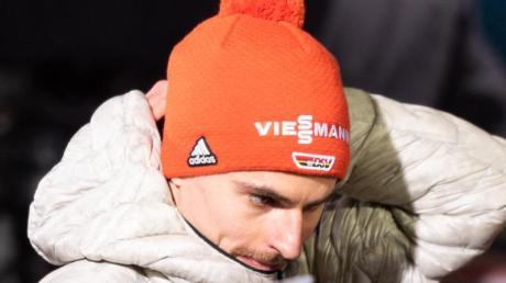 Richard Freitag hatte sich nicht für den Tournee-Auftakt in Oberstdorf qualifiziert.