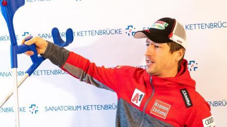 Hannes Reichelt will seine Ski-Karriere fortsetzen.