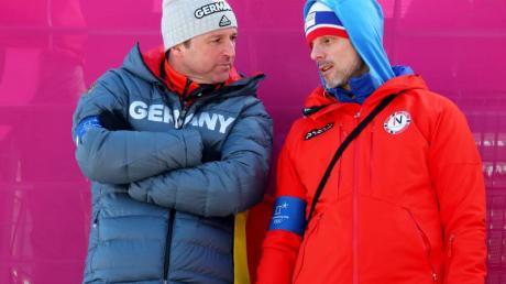 Kritik kam unter anderem von Norwegens Trainer Alexander Stöckl.