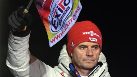 Skisprung-Bundestrainer Stefan Horngacher kommt gut bei seinen Athleten an.