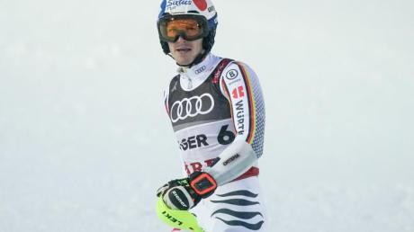 Linus Straßer wird beim Slalom in Zagreb an den Start gehen.