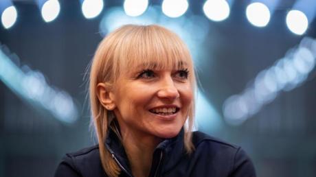 Könnte auf das Eis zurückkehren: Eiskunstläuferin Aljona Savchenko.